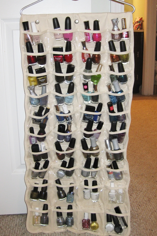 Repurpose A Tie Rack To Organize Necklaces And Bracelets.